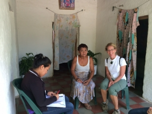 Conducting a health survey throughout our region